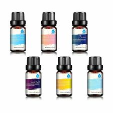 Pursonic 100% Pure Essential Aromatherapy Oils Gift Set (6- or 8-Pack)