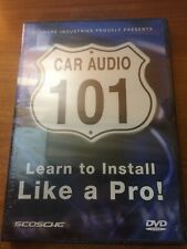 Scosche Car Audio 101 (DVD) Learn To Install Like A Pro...140