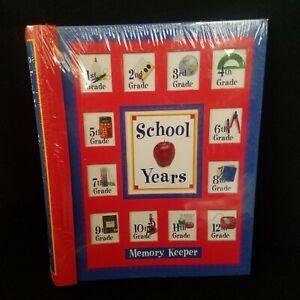 NEW School Years Memory Keeper Book Keepsake Photo Album New Seasons K-12