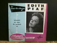 """EDITH PIAF  Edith Piaf A L'Olympia  10"""" LP   French 1st pressing    VERY RARE !"""