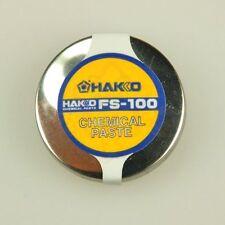 1PCS New White light (HAKKO) tip polisher chemical paste FS-100 #A82L LW