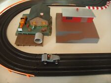 NICE PAIR OF BUILDINGS / RUSTIC TRACK SCENERY FOR YOUR SLOT CAR OR TRAIN LAYOUT
