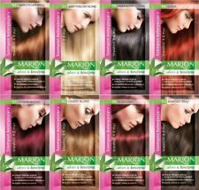 2x Marion Hair Color Shampoo in Sachet Lasting 4-8 Washes 0%Ammonia Fast Dispach