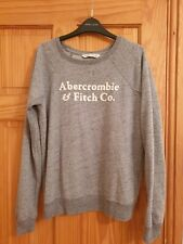 Abercrombie And Fitch Womens Grey Jumper Size Medium (8-10) UK
