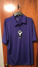 Nwt Men's adidas Golf Travel Elements Polo Purple Size X-Large. Msrp $65.00