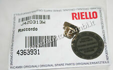 RIELLO RACCORDO ESTERNO ART. 4363931 CALDAIA BENEFIT EXTERNA