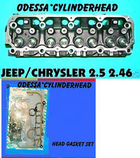 NEW JEEP 2.5 2.46 OHV CYLINDER HEAD CAST# 117 403 89-02 & head gasket set