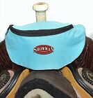 TEAL Insulated Nylon Saddle Horn Pouch Bag Trail Riding NEW Horse Tack