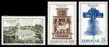 Faroe Islands 1989 Bicentenary of Torshavn church, Bell, Altar Piece, Mnh / Unm
