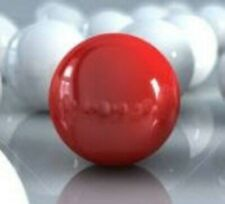 """Acrylic Ball .500"""" Diameter Opaque Red 100 Pieces Solid Red Balls 15462-15"""