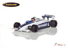 Brabham BT49c Cosworth V8 F1 Parmalat GP Monaco 1981 Hector Rebaque, Spark 1:43