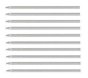 10 - Rotring Tikky 3-In-1 Multi-Functional Pen Refills  - BLACK MEDIUM