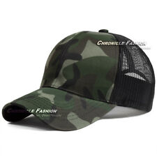 Trucker Hat Snapback Baseball Mesh Back Cap Solid Visor Plain Blank Hats Caps