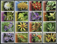 Bahamas Nature Stamps 2019 MNH Native Plants Flowers Definitives Flora 16v Set