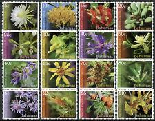 More details for bahamas nature stamps 2019 mnh native plants flowers definitives flora 16v set