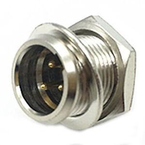 3 pin male Mini XLR Audio Microphone connector PM