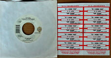 K.D. LANG - IF I WERE YOU b/w  GET SOME - WB 45 + (10) JUKEBOX STRIPS