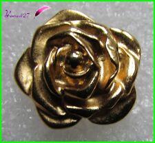 Pin's YVES SAINT LAURENT YSL Une Fleur dorée Flower  Broche bijou Blume #789