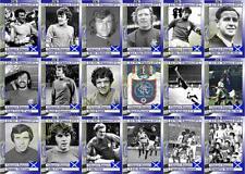 Glasgow Rangers 1972 European Cup winners Cup Winners football trading cards