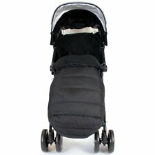 iSAFE Buggy Stroller Pushchair - Flowers With Footmuff Bumper Bar & Rain Cover