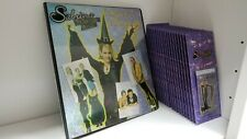 20 Sabrina The Teenage Witch Trading Card Blister Pack with matching Binder set