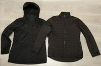 THE NORTH FACE THERMOBALL SNOW TRICLIMATE insulated SKI WOMEN'S BLACK JACKET - M