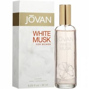 JOVAN WHITE MUSK * Coty 3.25 oz / 96 ml Eau de Cologne (EDC) Women Perfume Spray