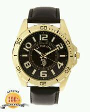 U.S. POLO ASSN. USC50012 Gold-Tone & Brown Watch 19970