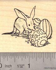 Easter Bilby Rubber Stamp (Rabbit-eared Bandicoot Marsupial) H14503 Wm