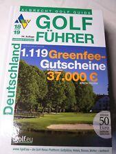 1 Gutschein GREENFEE aus dem Golf Führer Albrecht