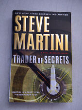 Trader of Secrets, Steve Martini, Hardback, 1st Edition, w/warranty