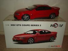 1:18 HSV GTS Coupe Series 2 in String Red with Black trim Only 500 Made.
