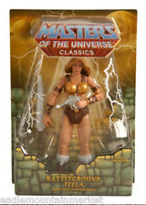 BATTLEGROUND TEELA 1ST ISSUE MASTERS OF THE UNIVERSE CLASSICS FIGURE MOTUC