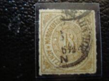 ALLEMAGNE(confederation de l allemagne du nord)timbre yt n°11 obl (A4) germany