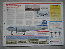 Aircraft of the World Card 67 , Group 2 - Ilyushin Il-14 'Crate'