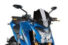 Bulles et pare-brises noirs pour motocyclette Suzuki
