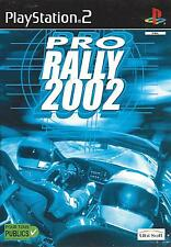 PRO RALLY 2002 for Playstation 2 PS2 - with box & manual - PAL