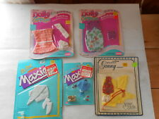 Doll clothes Lot Dolly Surprise Maxi Ginny 5 pieces 1980's new in packages