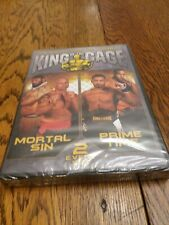 King Of The Cage 2 Event Set Brand New Sealed Mma Dvds Mortal Sin Prime Time