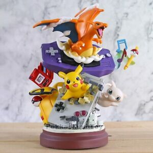 Limited Edition Rare Pokemon Collectible Statue/Figure GBA Charizard Mew Pikachu