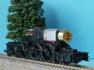 HORNBY TORNADO CHASSIS A1 MOTORISED DCC READY VALVE GEAR + CON ROD DAMAGED SOR f
