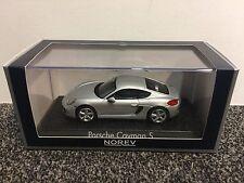 Porsche Cayman S 2013 Silver 1:43 Norev
