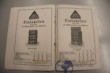 alter Katalog Eisen Öfen Paulinenhütte Musterbuch Nr.4 von 1928