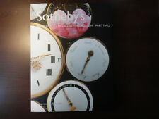 """Sotheby's """"Masterpieces from the Time Museum Part Two,"""" 2002, superb timepieces"""