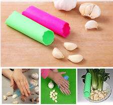 New Pro Silicone Garlic Peeler Peel Easy Remove Useful Kitchen Cooking Tool