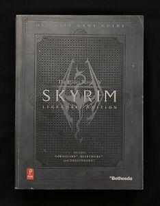 Elder Scrolls V Skyrim Legendary Edition: Prima Official Guide INCLUDES MAP
