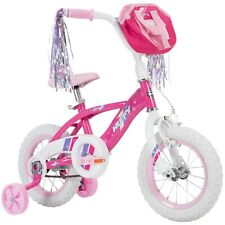"""Huffy Glimmer 12"""" Girls Bike - Pink - Quick Connect Assembly"""