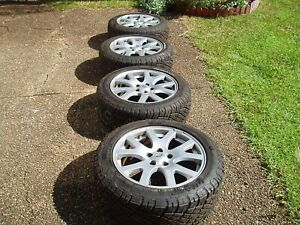 Car rims and tyre