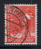 Berlin 1949 Mi. 23 Gestempelt 100% 8 pf Aufdruck