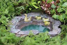 Miniature Mallard's Pond WS 1008 Fairy Garden Dollhouse